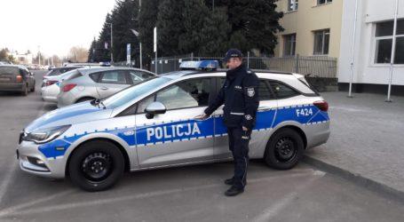 Nowy radiowóz trafił do komisariatu w Wolborzu