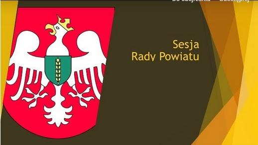 Photo of Sesja Rady Powiatu