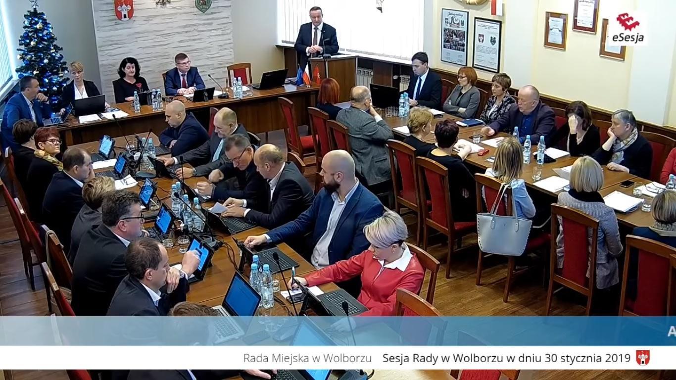 Photo of Obradowali Radni Rady Miejskiej w Wolborzu
