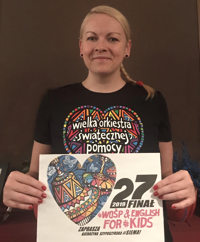 Photo of WOŚP w Piotrkowie po amerykańsku i angielsku