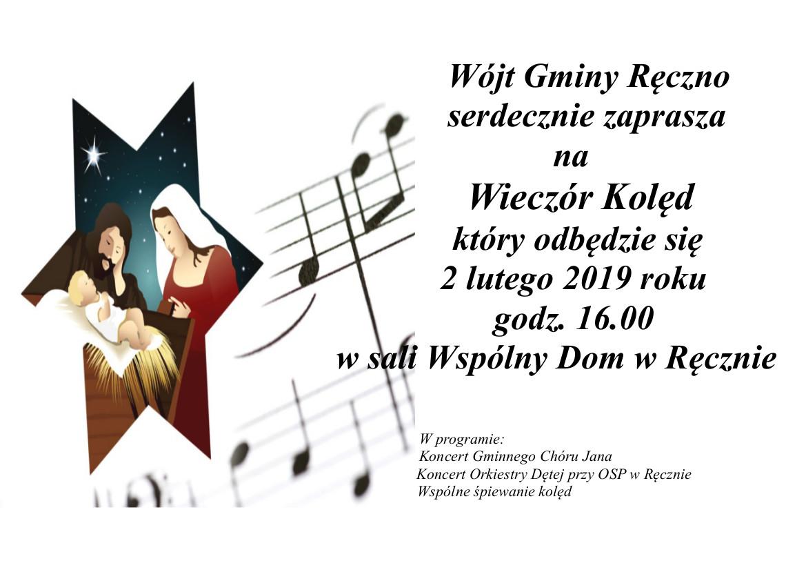 Photo of Koncert kolęd w Ręcznie
