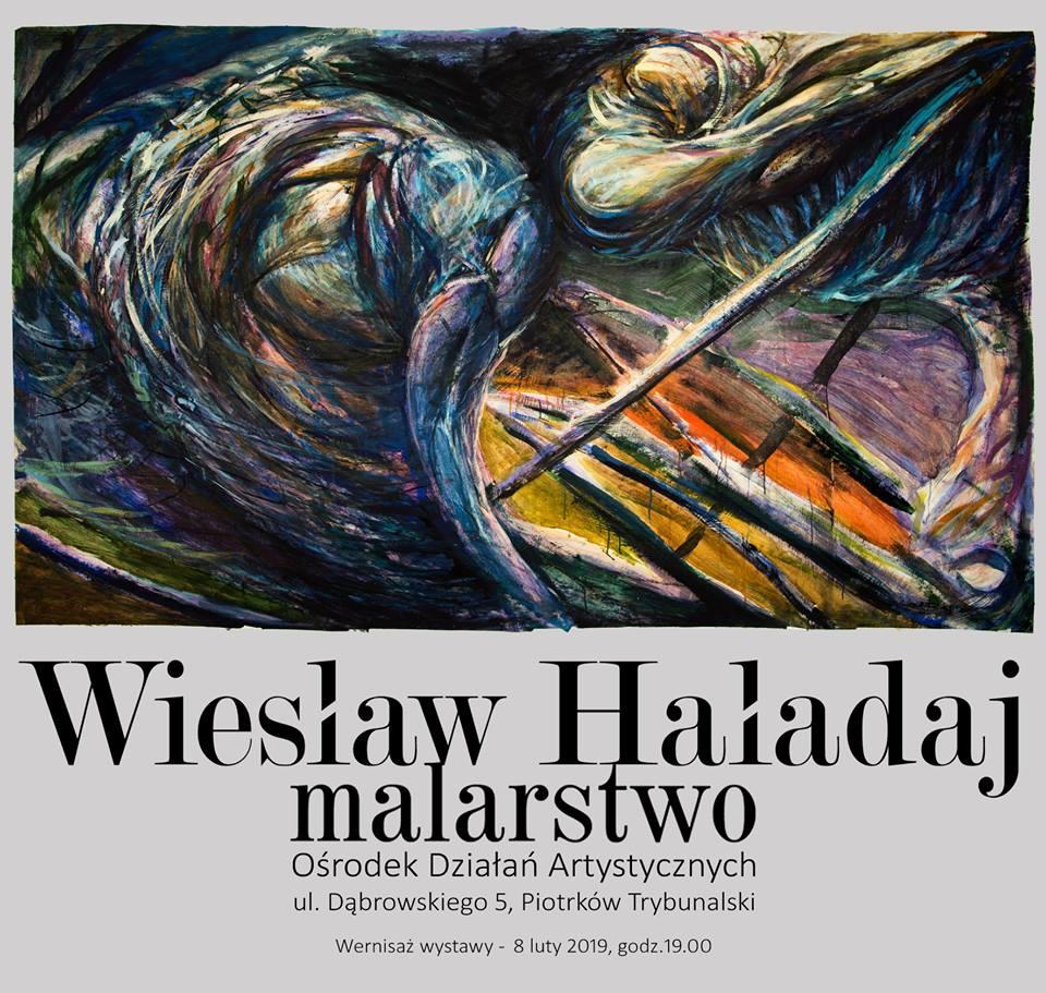 Photo of Otwarcie wystawy Wiesława Haładaja