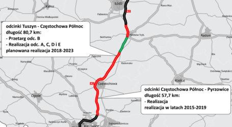 Pięciu wykonawców zainteresowanych budową A1 od Piotrkowa do Kamieńska