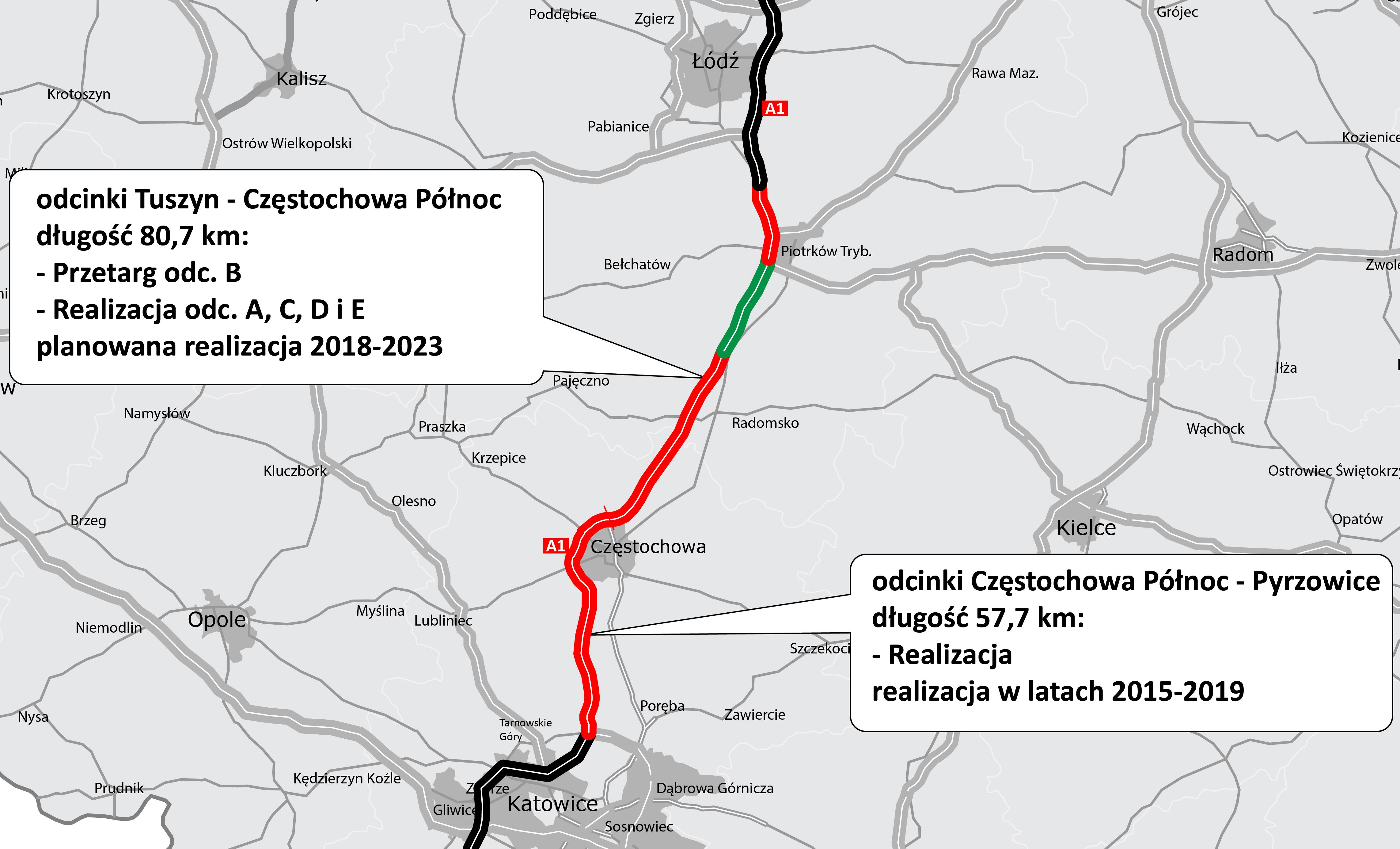Photo of Pięciu wykonawców zainteresowanych budową A1 od Piotrkowa do Kamieńska