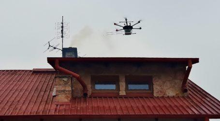 Dronem badają jakość spalin – foto, video