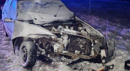 Dwie osoby ranne po wypadku w Kacprowie