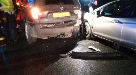 Wypadek na DK1. W pojazdach były dzieci i kobieta w ciąży. Sprawcą pijany kierowca