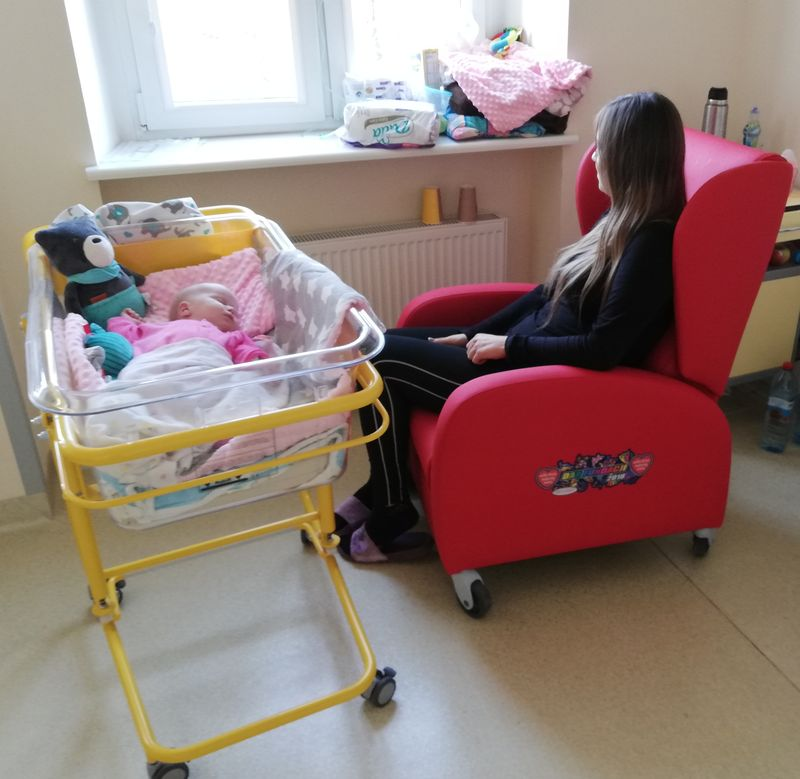 Photo of Fotele od WOŚP trafiły do szpitala powiatowego