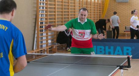 Samorządowcy zagrali w ping-ponga