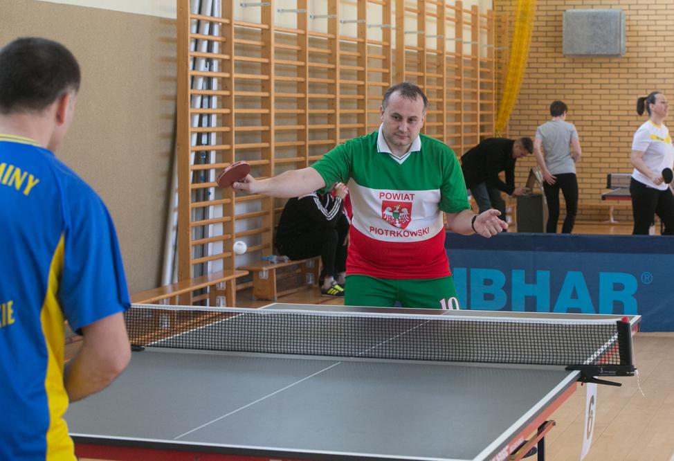 Photo of Samorządowcy zagrali w ping-ponga