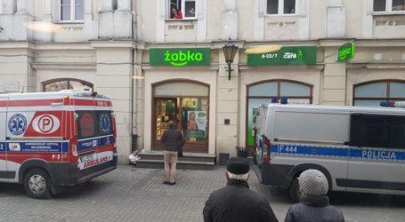 15-letni uciekinier z poprawczaka zdemolował sklep na starym mieście