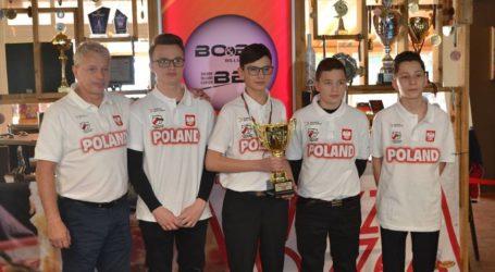 Oskar Jamorski z Rękoraja wicemistrzem EEBC Juniorów