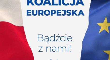 Koalicja Europejska w walce o poparcie