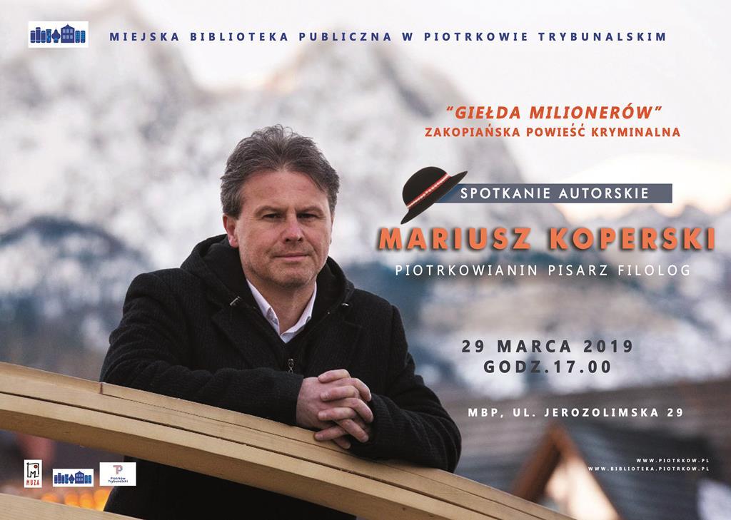 Photo of Spotkanie z Mariuszem Koperskim w MBP