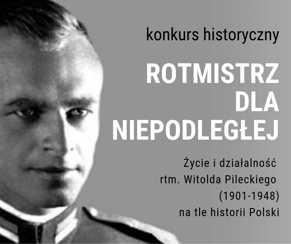 """Photo of Konkurs historyczny """"Rotmistrz dla niepodległej"""""""