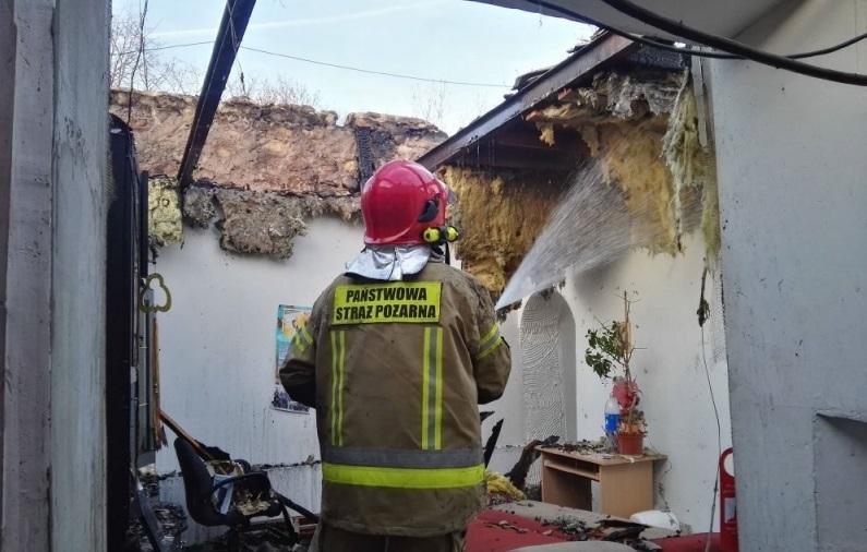 Photo of Pożar domu w Białej