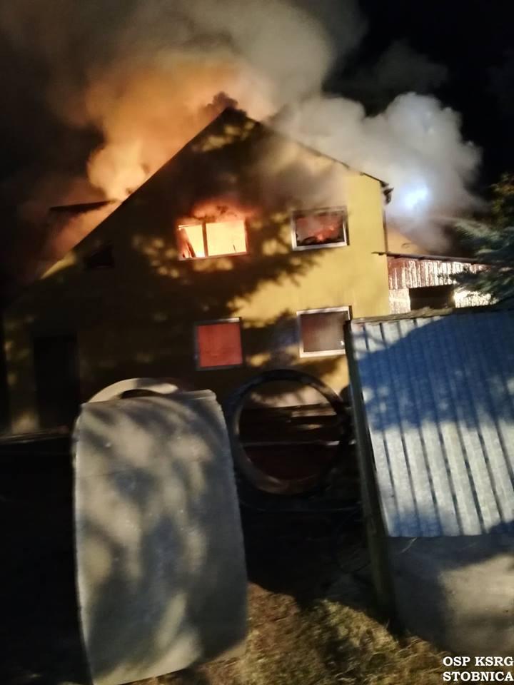 Photo of Znowu płonął dom. Tym razem w gminie Ręczno