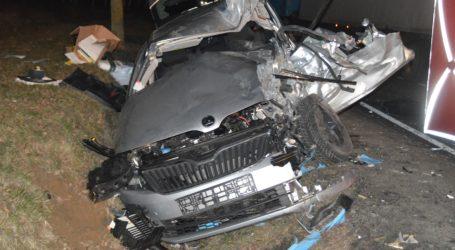 Kierowca skody zginął w wypadku