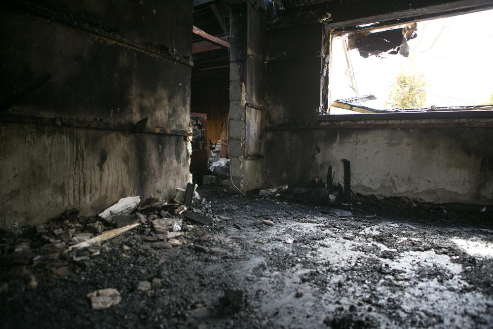 Photo of Pożar za pożarem. Paliły się domy w Białej, Przewozie i Biskupiej Woli