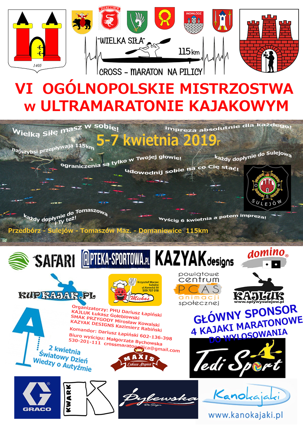 Photo of VI Ogólnopolskie Mistrzostwa w Ultramaratonie Kajakowym