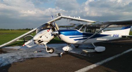 Wypadek na lotnisku. Zderzyły się dwa samoloty