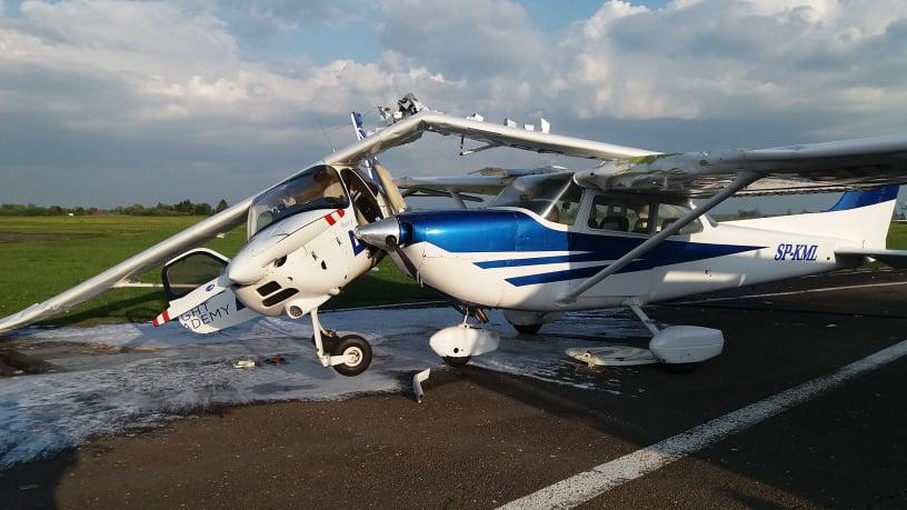 Photo of Wypadek na lotnisku. Zderzyły się dwa samoloty