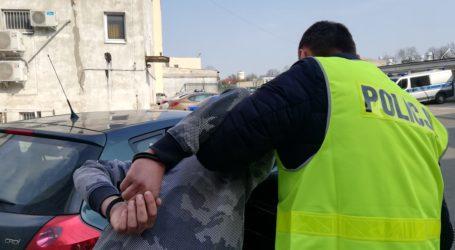 Międzynarodowa akcja policji pod Piotrkowem. Paser trafił już za kratki – ZDJĘCIA