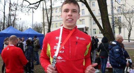 Jakub Deląg z Piotrkowa zbiera pieniądze na start w Pucharze Świata w Nordic Walking