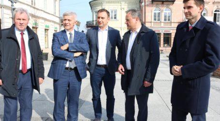 Marek Belka w Piotrkowie