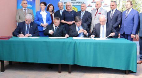Podpisano umowę na budowę odcinka autostrady A1 Piotrków Trybunalski – Kamieńsk