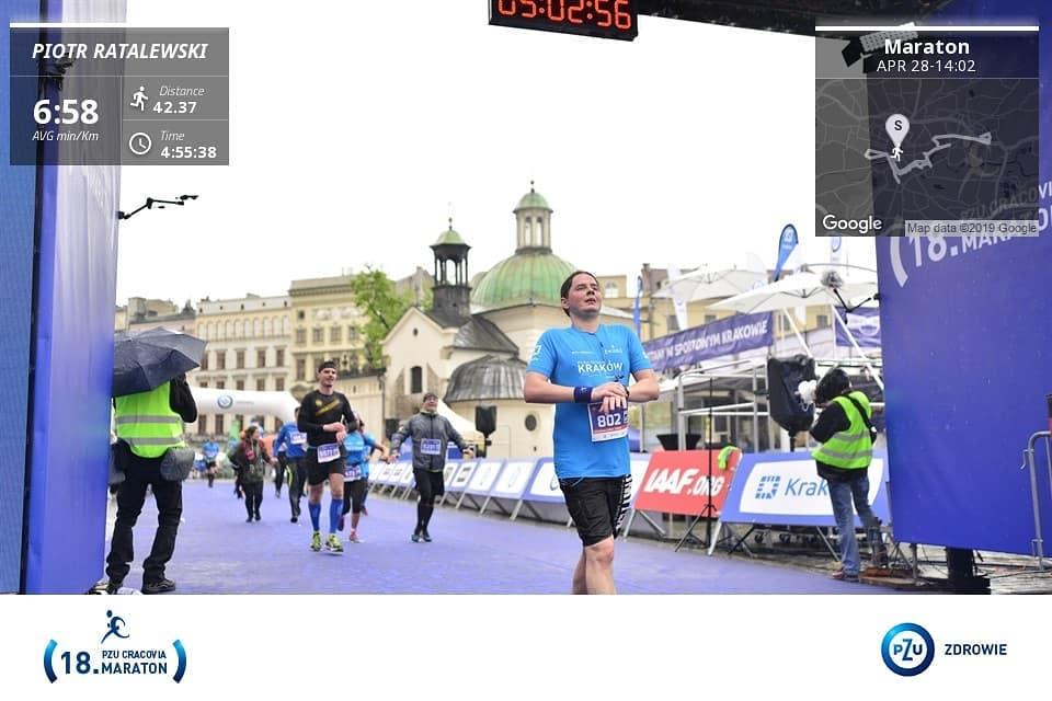 Photo of Piotrkowianie na 18. PZU Cracovia Maratonie
