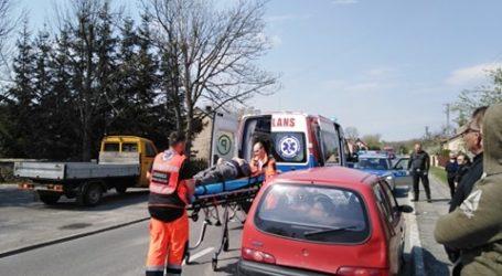 Potrącony rowerzysta w Dąbrówce, kolizja na Piłsudskiego w Piotrkowie i na A1. Policjanci mają pełne ręce roboty