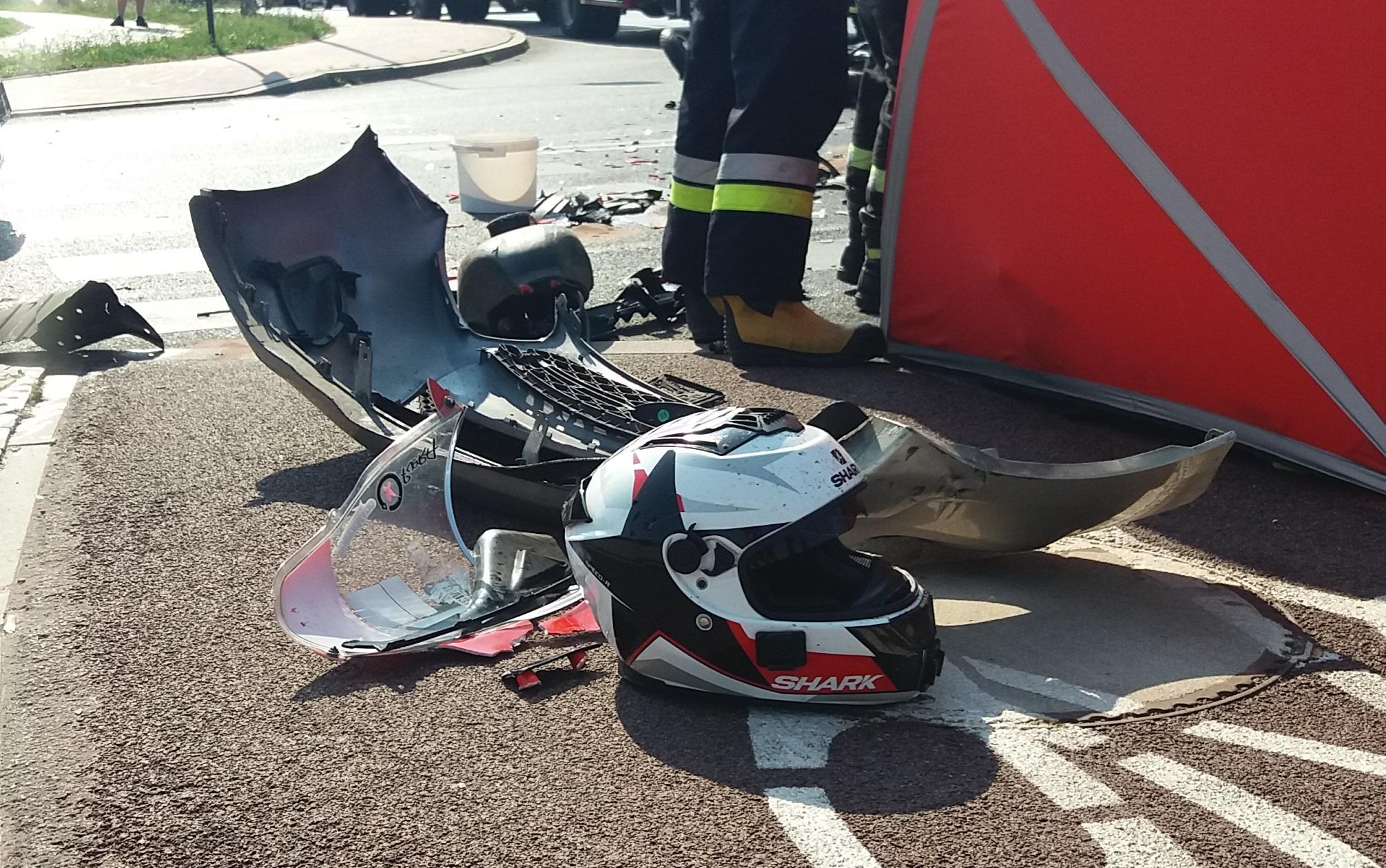 Photo of Śmierć motocyklisty