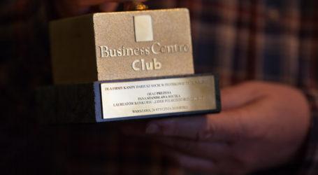 Firma z Piotrkowa Trybunalskiego z nagrodą Business Centre Club