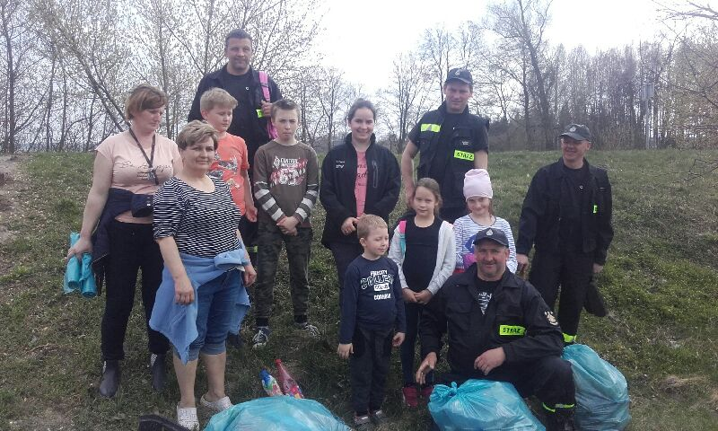 Photo of Znowu sprzątali okolice Wolborza