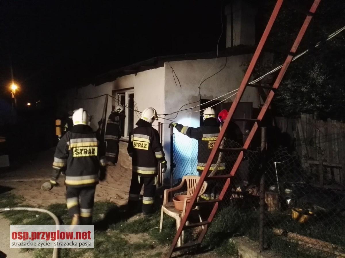 Photo of Pożar domu przy Targowej w Sulejowie