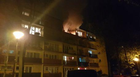 Pożar w mieszkaniu przy Górnej
