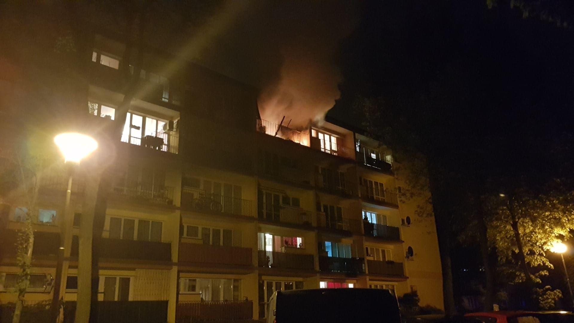 Photo of Pożar w mieszkaniu przy Górnej