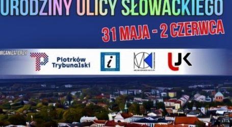 Ulica Słowackiego świętuje urodziny