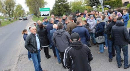 Protest mieszkańców gm. Grabica – jest odpowiedź GDDKiA
