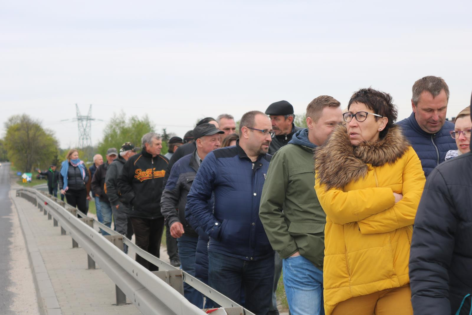 Photo of Mieszkańcy gminy Grabica protestują w sprawie zamknięcia wiaduktu – posłuchaj
