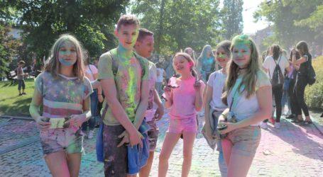 Park Jana Pawła II w tęczowych barwach – FILM