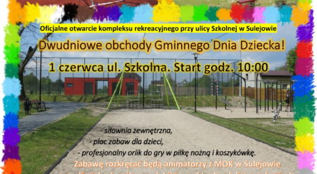 Na Dzień Dziecka nowe boisko i plac zabaw