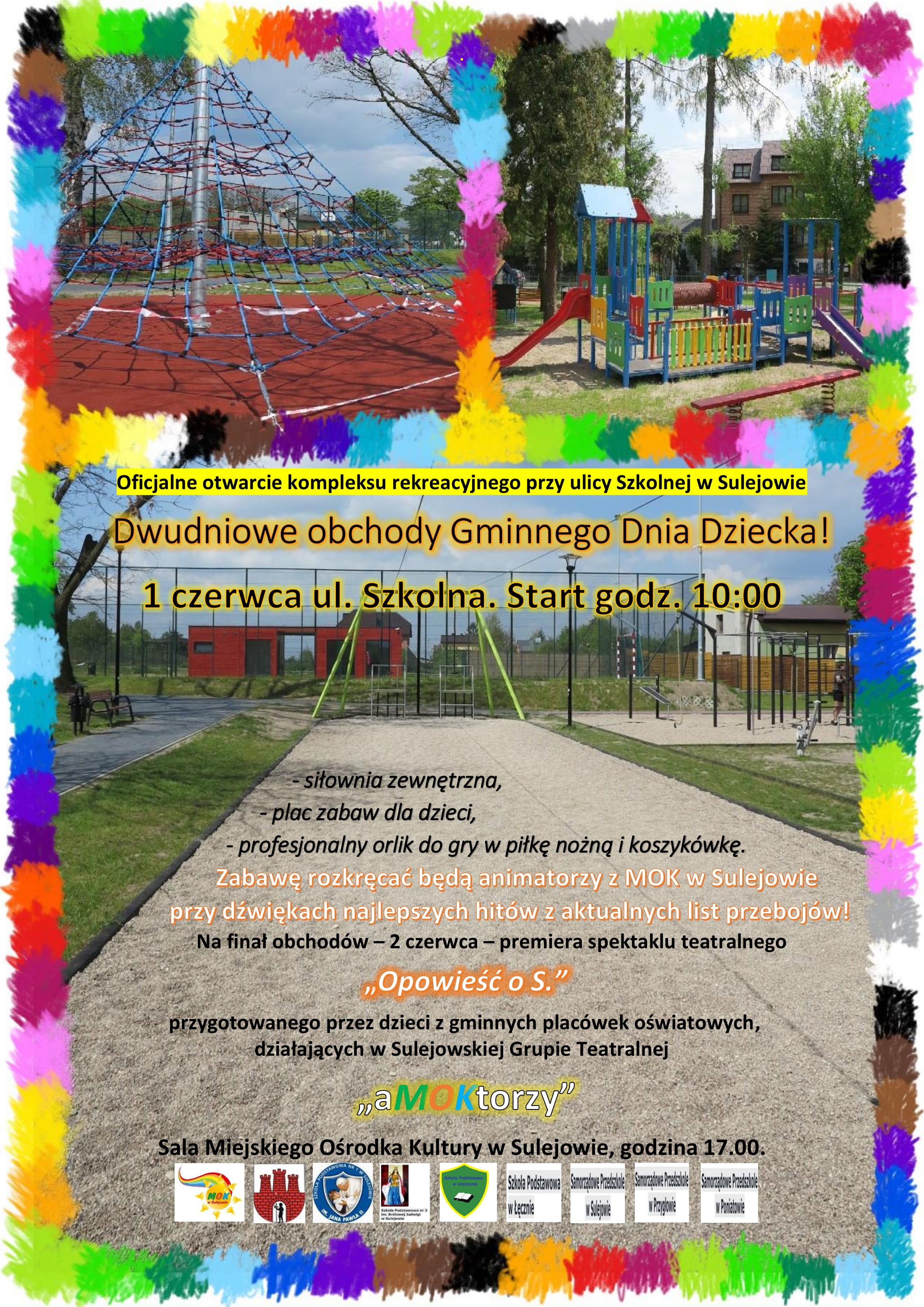 Photo of Na Dzień Dziecka nowe boisko i plac zabaw