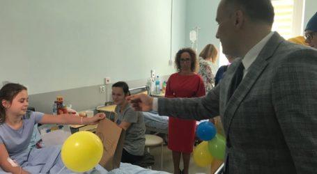 Dzień dziecka na oddziale pediatrycznym PCMD