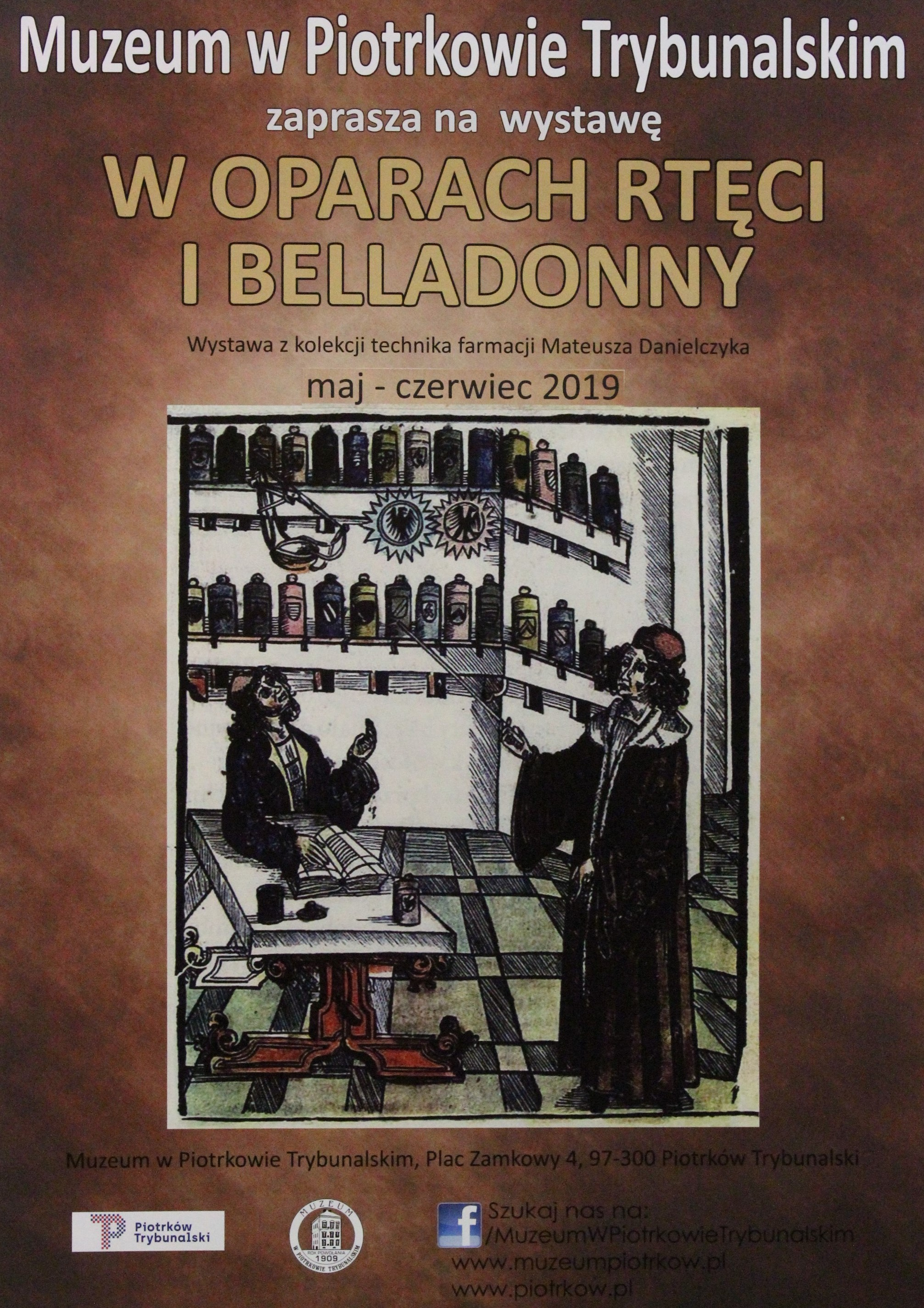 """Photo of Wernisaż wystawy """"W oparach rtęci i belladonny"""""""