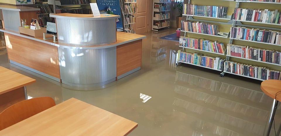 Photo of Zalana biblioteka w Moszczenicy