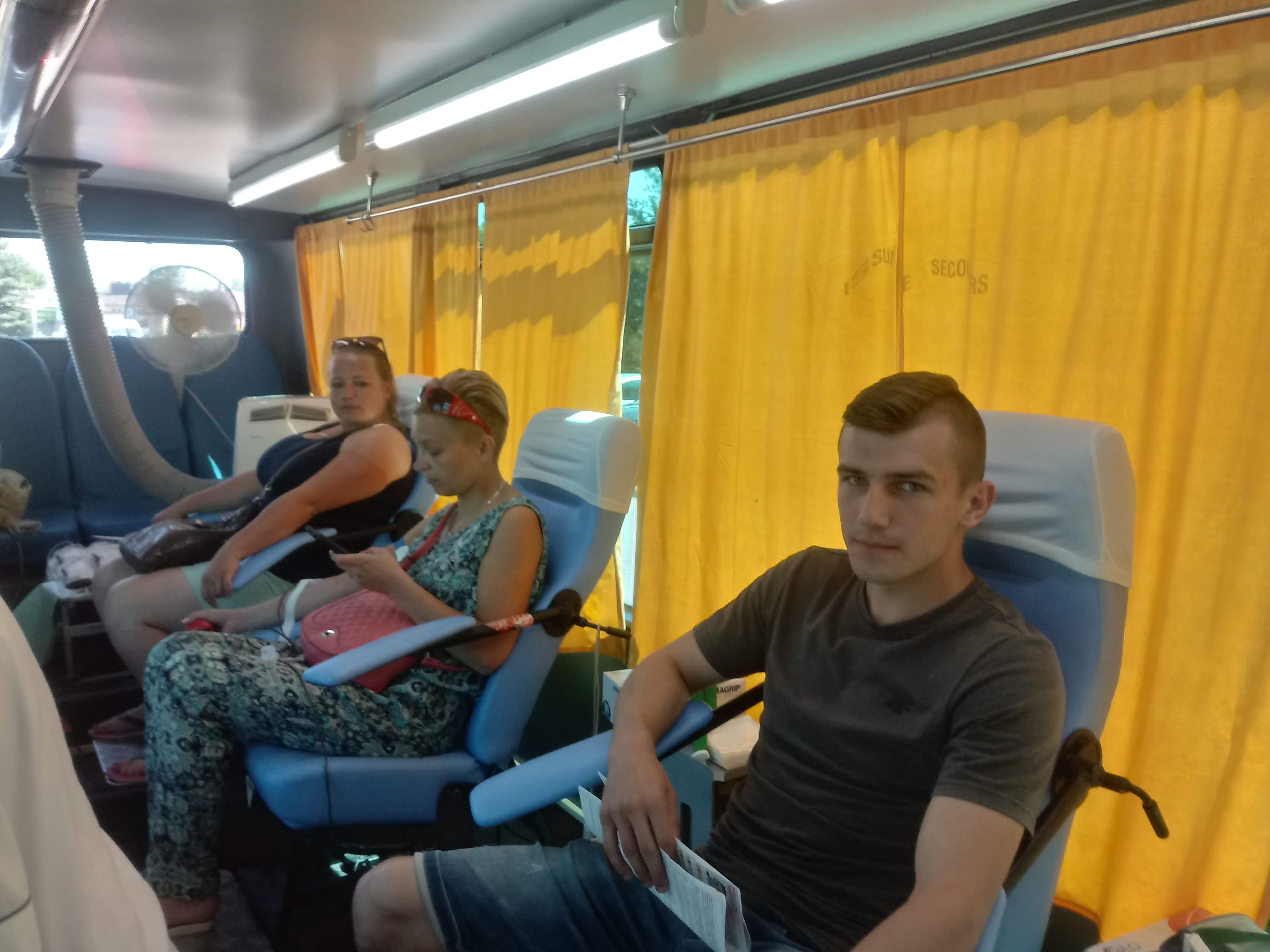 Photo of Prawie 21 litrów krwi dla Kacpra