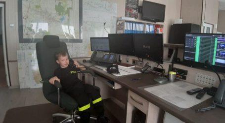 Najmłodszy strażak w piotrkowskiej PSP
