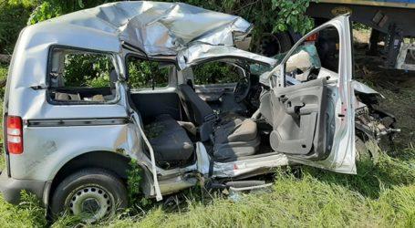 Śmiertelny wypadek na DK91